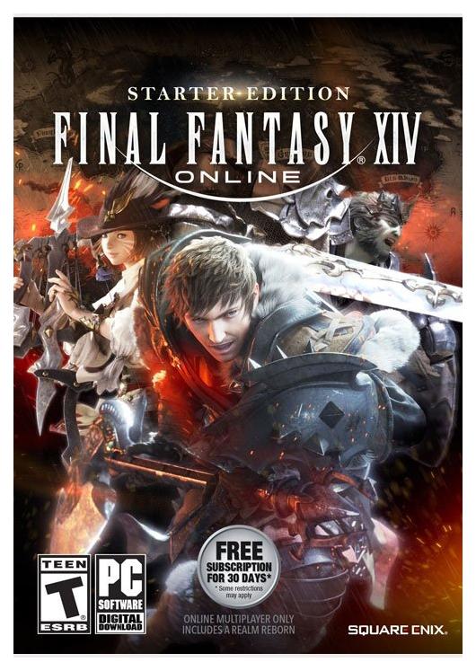 Игра Final Fantasy XIV: Starter для PlayStation