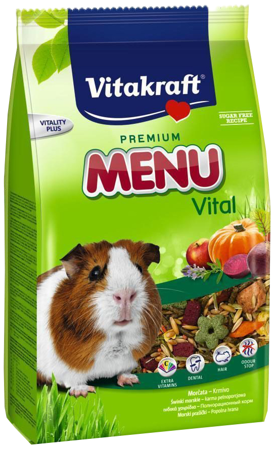 Корм для морских свинок Vitakraft Menu Vital 1 кг 1 шт