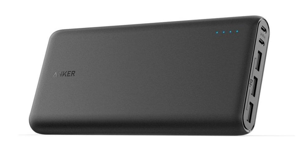 Внешний аккумулятор Anker PowerCore 26800 мА/ч (A1277011) Black