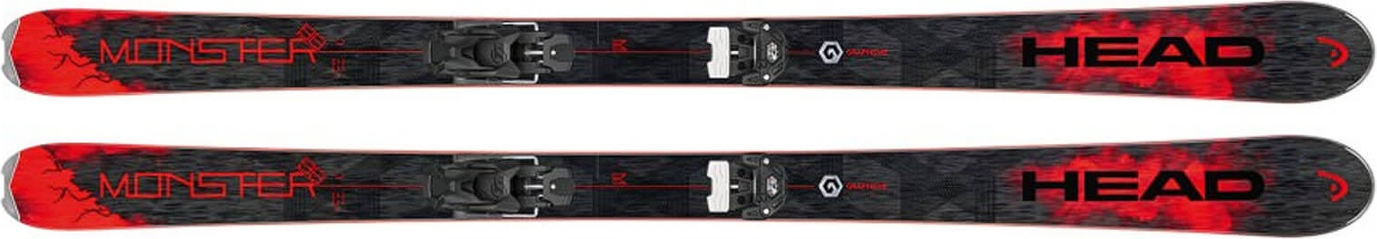 Горные лыжи Head Monster 88 Ti SW Black/Neon