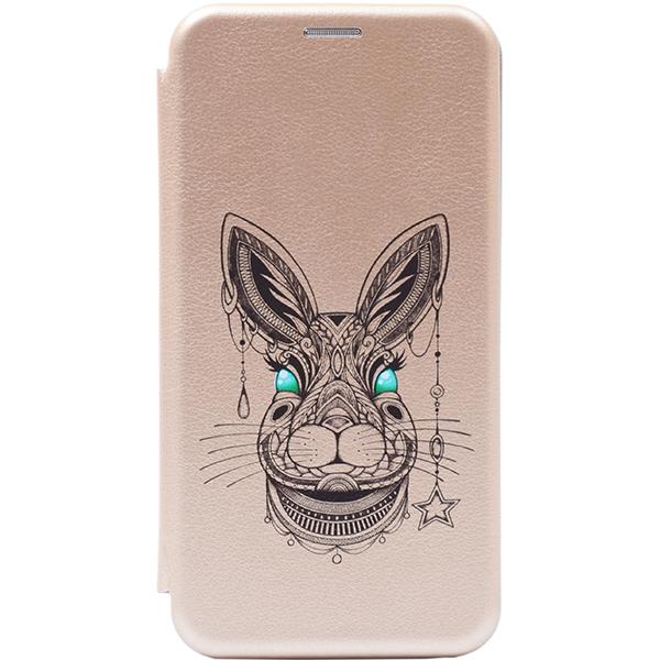 Чехол Gosso Cases для Huawei P Smart Z / Y9 Prime (2019) Gold «Grand Rabbit»