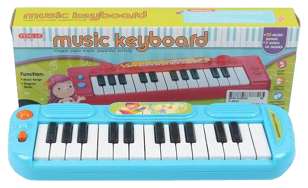 Инстр. музык. синтезатор, ВОХ 26, 5х9, 5х4см, 2 вида, арт.FL8003., FengLe, Детские музыкальные инструменты  - купить со скидкой