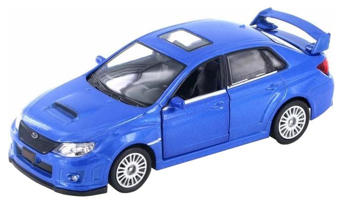 Купить Машина металлическая RMZ City 1:32 SUBARU WRX STI инерционная, Цвет Синий, Uni-Fortune,