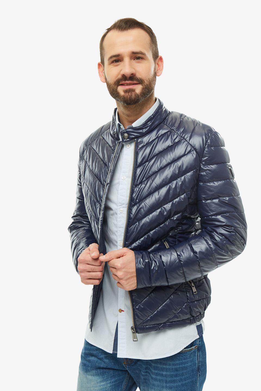 Куртка мужская Guess M94L05-WC270-G720 синяя S