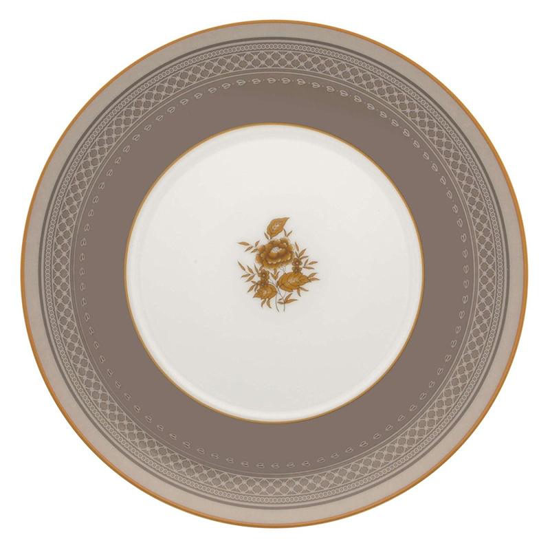 Тарелка для хлеба и масла 22,9см Vista Alegre HERITAGE, цвет белый, серый
