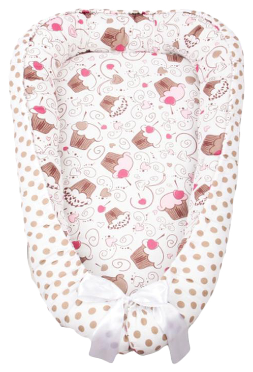 Купить Подушка-Позиционер для сна AmaroBaby кокон-гнездышко, LITTLE BABY Десерт, Детские подушки