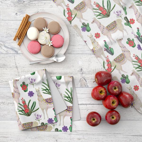 Набор кухонного текстиля MARENGO TEXTILE «Ламы»