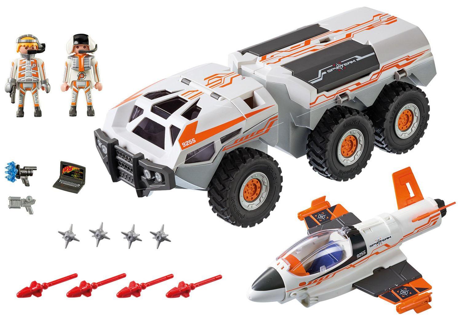 Купить Набор PLAYMOBIL Боевой грузовик команды шпионов, Машинки-трансформеры