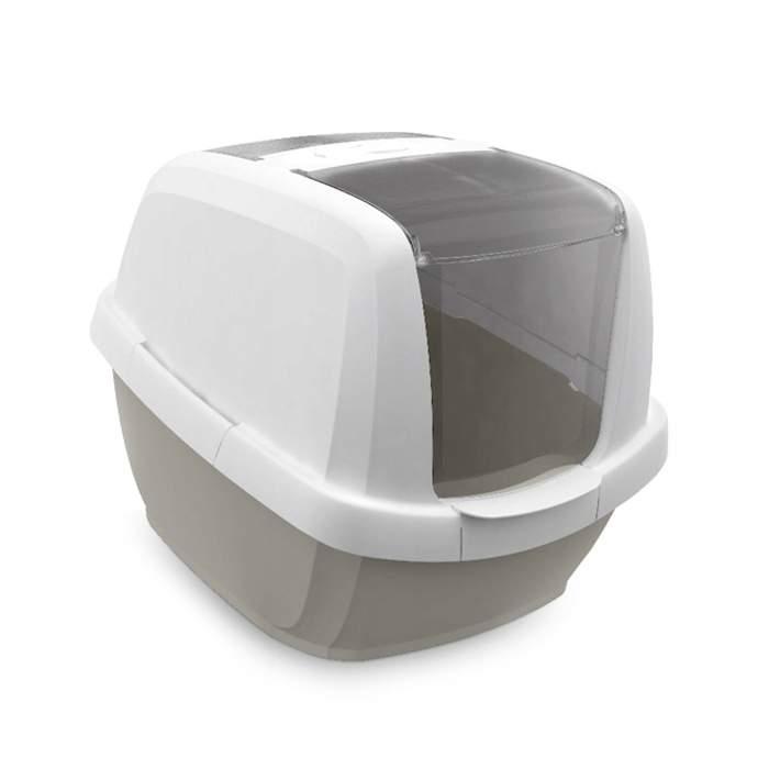 Туалет для кошек IMAC Maddy, прямоугольный, бежевый,