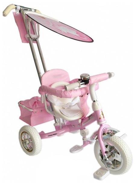 Трехколесный велосипед Funny Jaguar Lexus Next Barbie (цвет: розовый)
