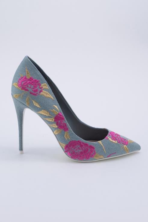 Туфли женские ALDO GOSNEY синие 37 RU