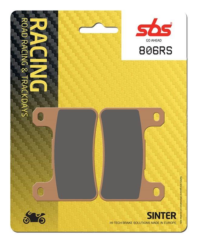 Тормозные колодки передние SBS 806RS для мотоциклов
