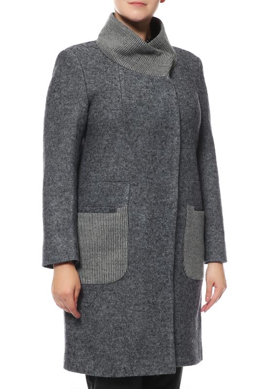 Пальто женское Giulia Rosetti LR-106 серое 58 RU