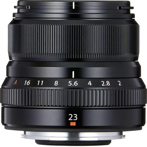 Объектив для фотоаппарата Fujifilm FXF23MMF2 R WR B P XF23mm f/2 R WR