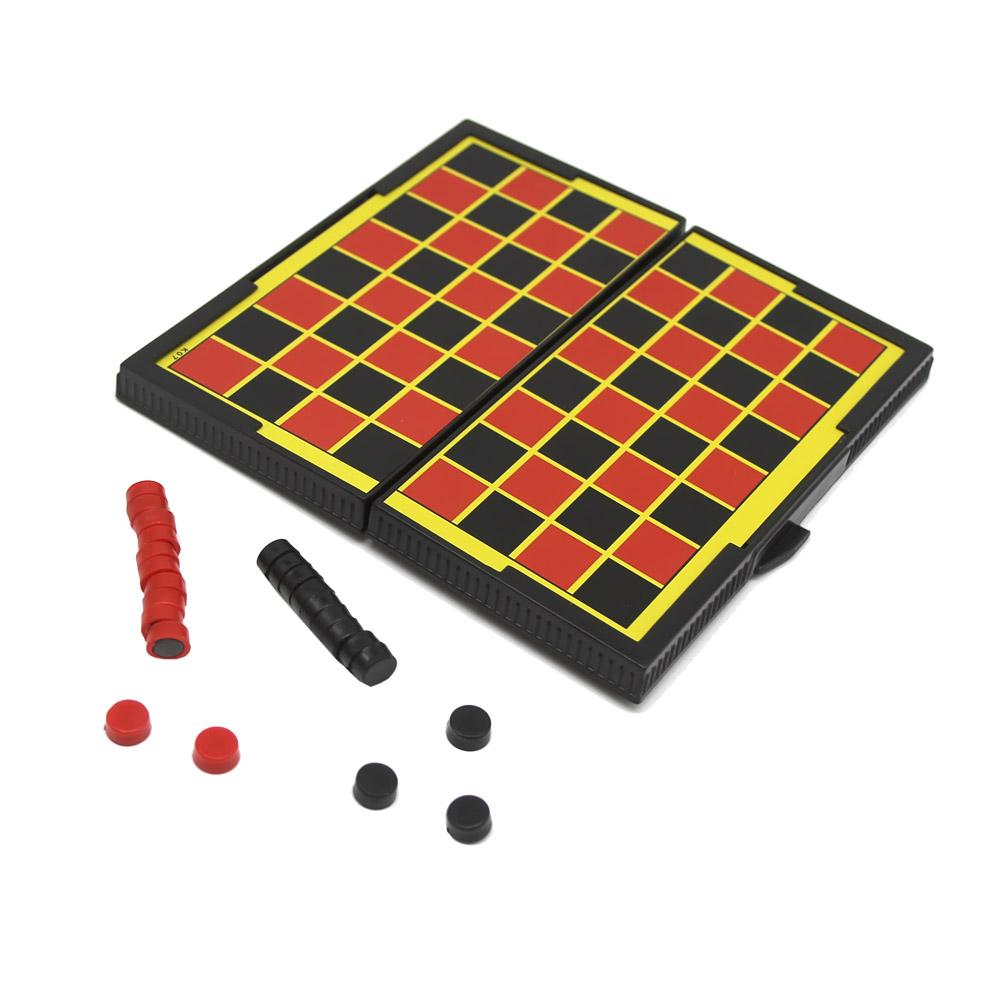 Настольная мини-игра Компания друзей Магнитные шашки JB1000322 фото
