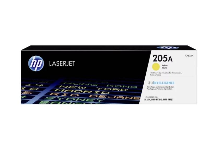 Картридж для лазерного принтера HP CF532A желтый
