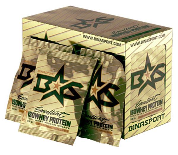 Протеин Binasport Excellent Isowhey 33 г Chocolate Excellent Isowhey по цене 100
