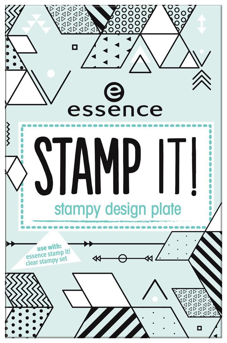 Трафарет для штампа Essence т.02