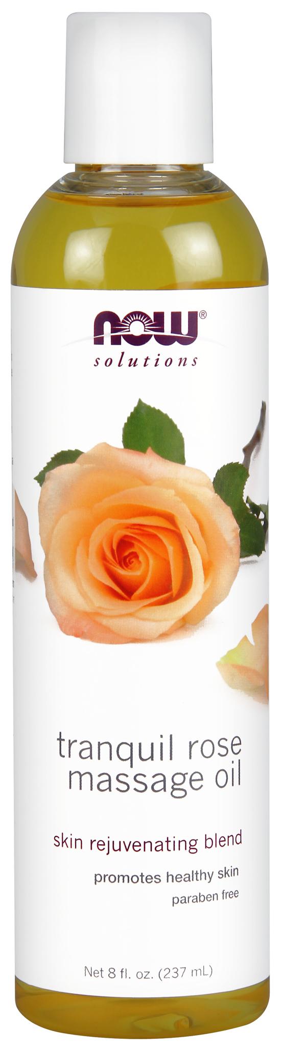 Масло для тела Now Foods Rose Massage