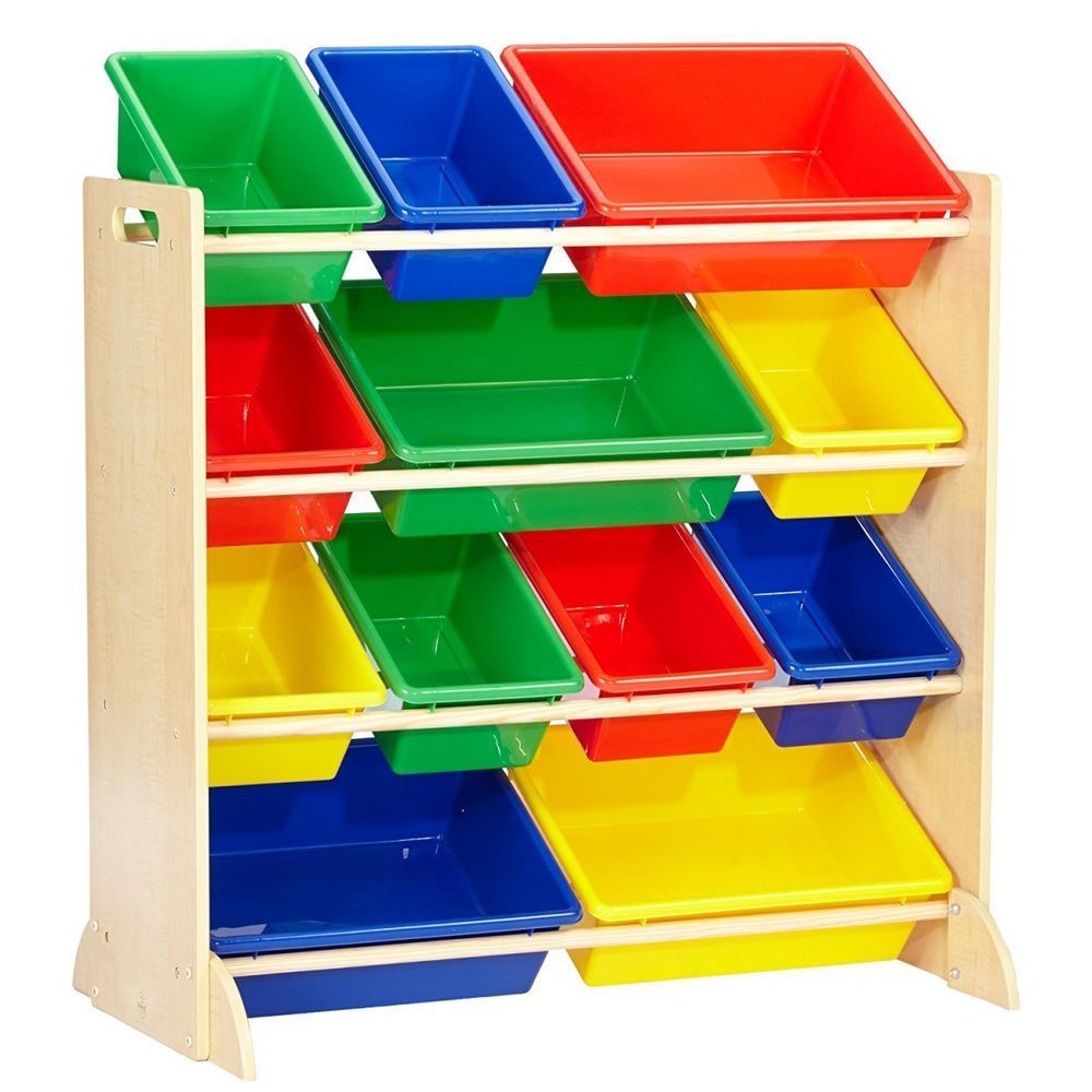 Купить Детские комнаты, мебель, Система для хранения KidKraft с 12 контейнерами,