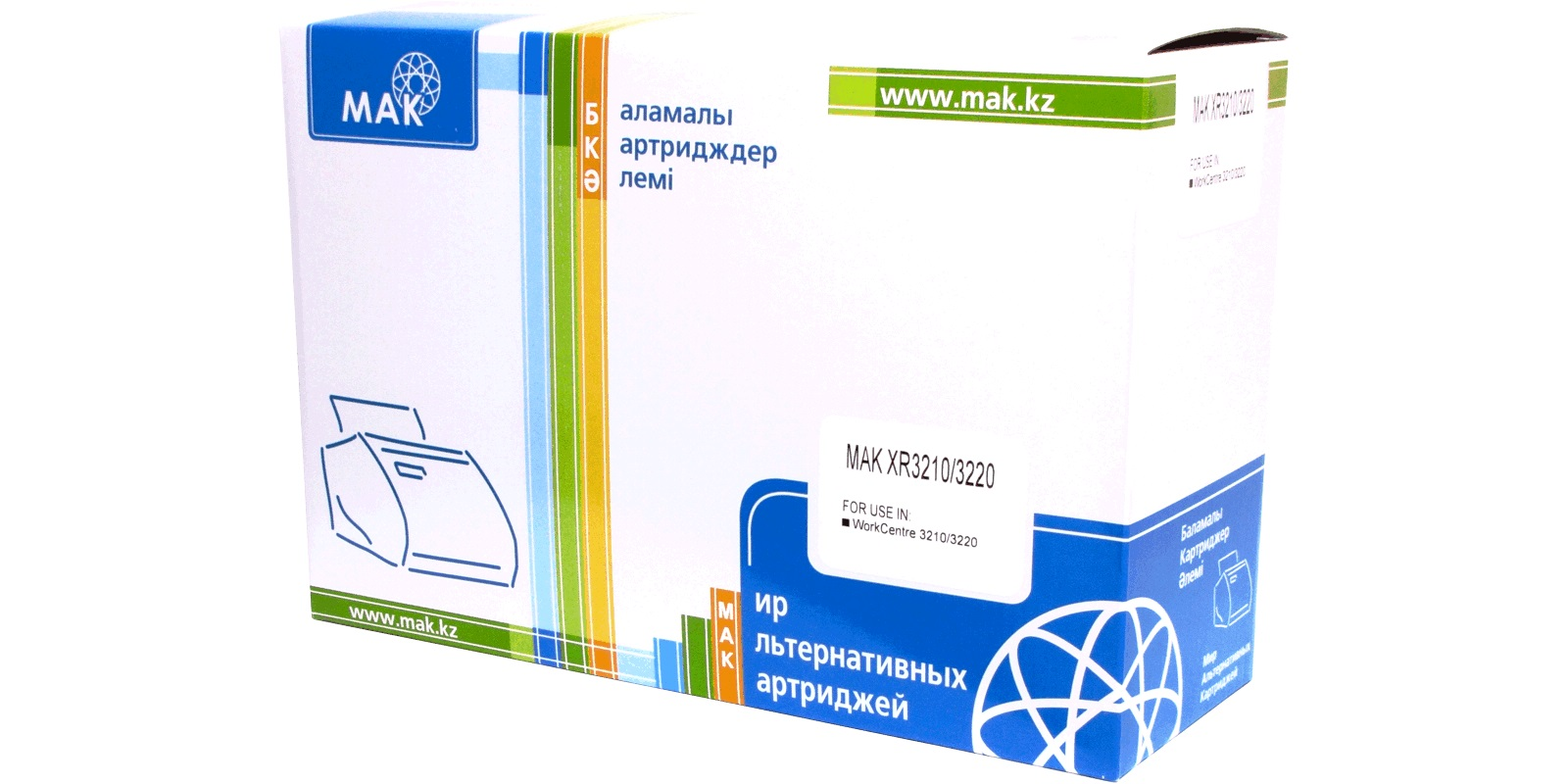 Картридж лазерный MAK© WC3210/3220 (106R01487) черный (black), до 4100 стр, для Xerox