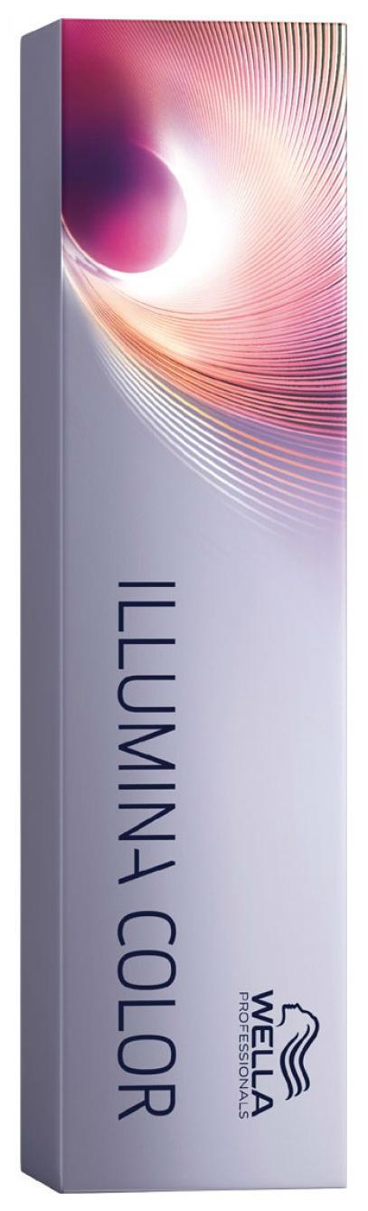 Краска для волос Wella Illumina color 6/76 Темный блонд коричнево-фиолетовый 60 мл
