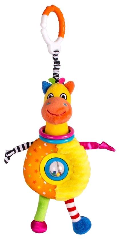 Погремушка-Прорезыватель Happy Snail Спот В Цирке С Подвесом,  - купить со скидкой