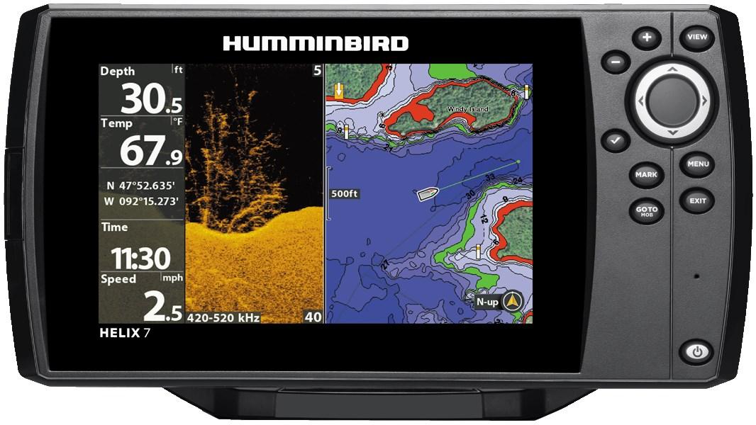 Эхолот Humminbird Helix 7x Chirp DI GPS G2N Eth/BT/ACL фото