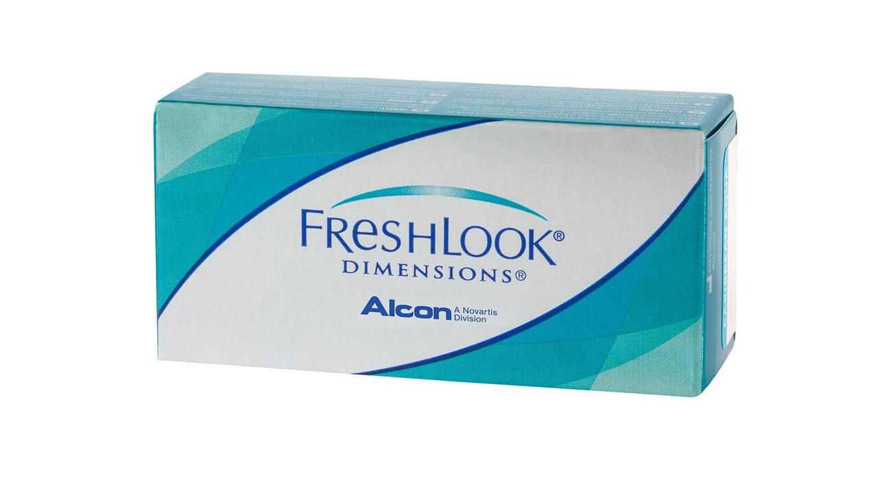 Купить Контактные линзы FreshLook Dimensions 2 линзы 0, 00 pacific blue