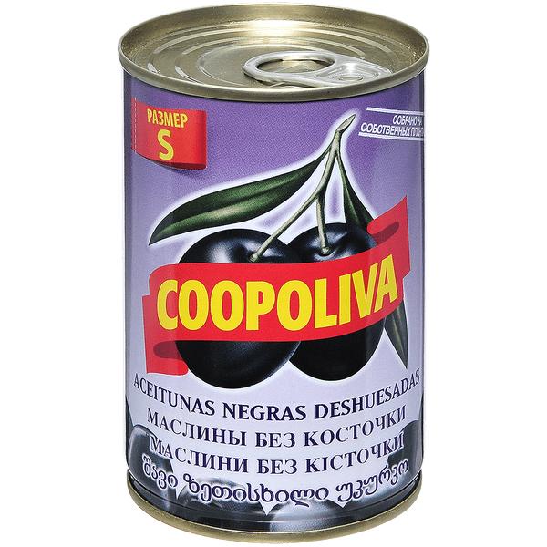 Маслины Coopoliva без косточки 300 г