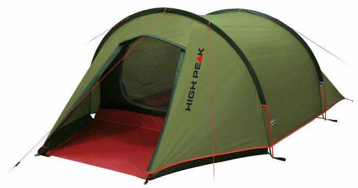 Палатка High Peak Kite двухместная зеленая