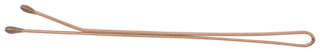 Купить Аксессуар для волос Dewal CL3021BZ 70 мм Прямые Бронза 40 шт