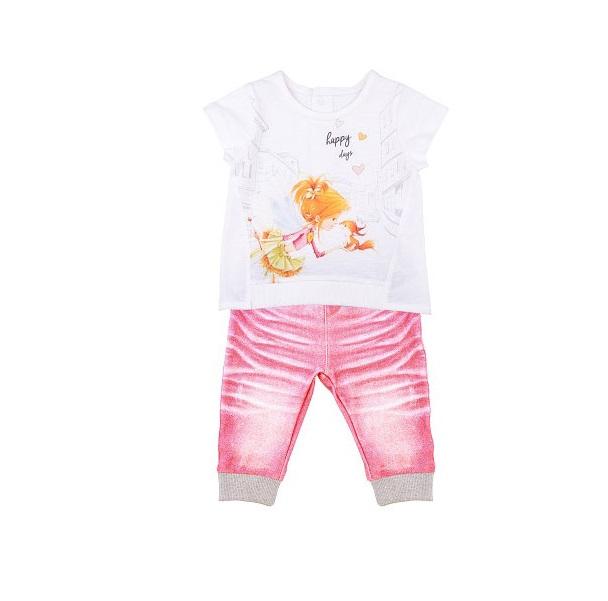 Купить Комплект 2 пр. Папитто для девочки Fashion Jeans 523-04 р.22-74, Комплекты для новорожденных