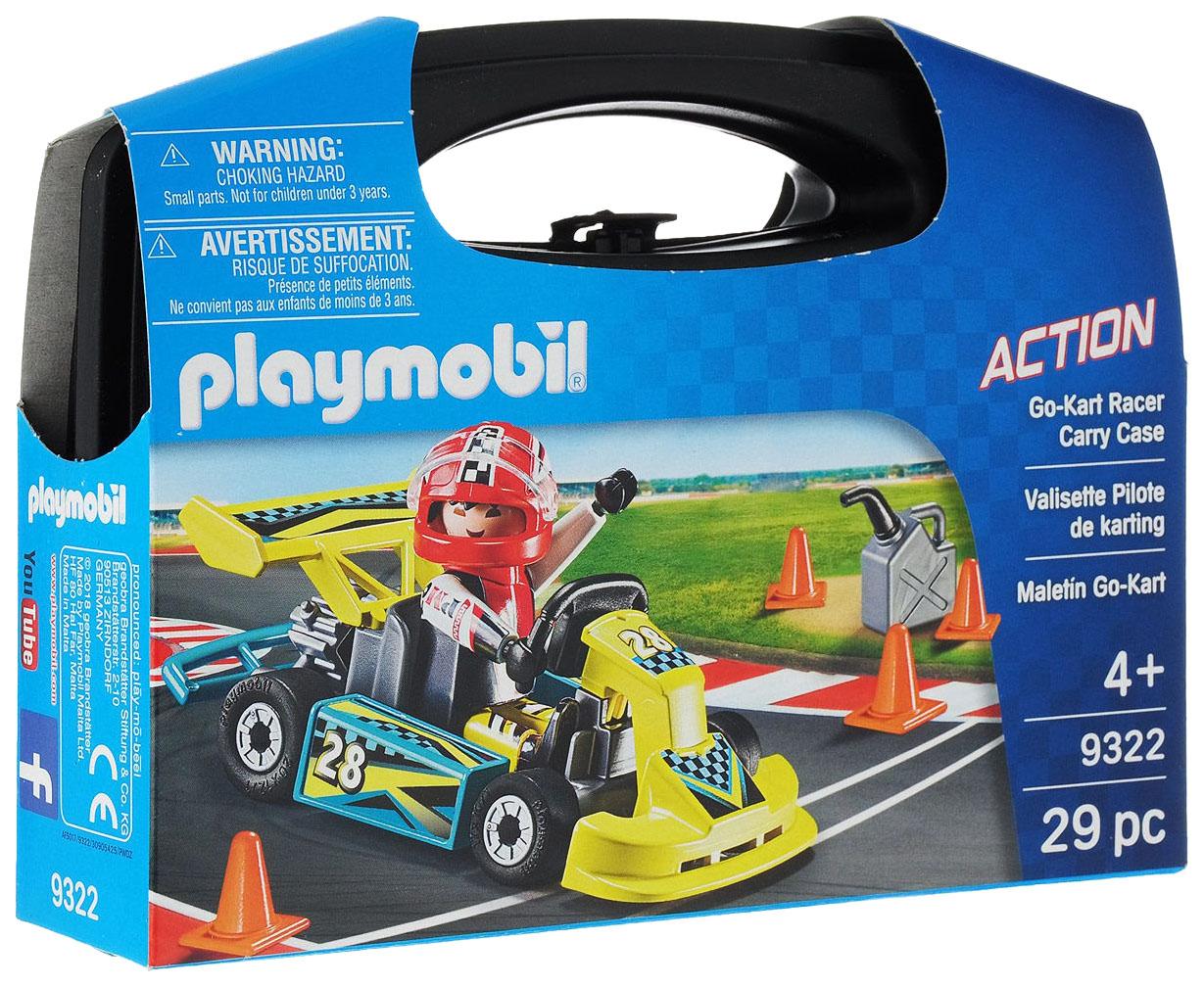 Конструктор пластиковый Playmobil Возьми с собой: Картинг, Конструкторы пластмассовые  - купить со скидкой