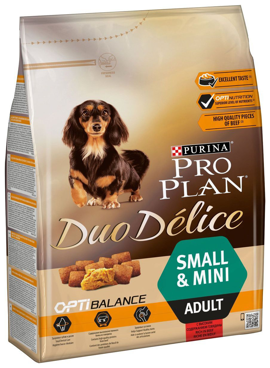 PRO PLAN DUO DELICE SMALL #AND# MINI ADULT
