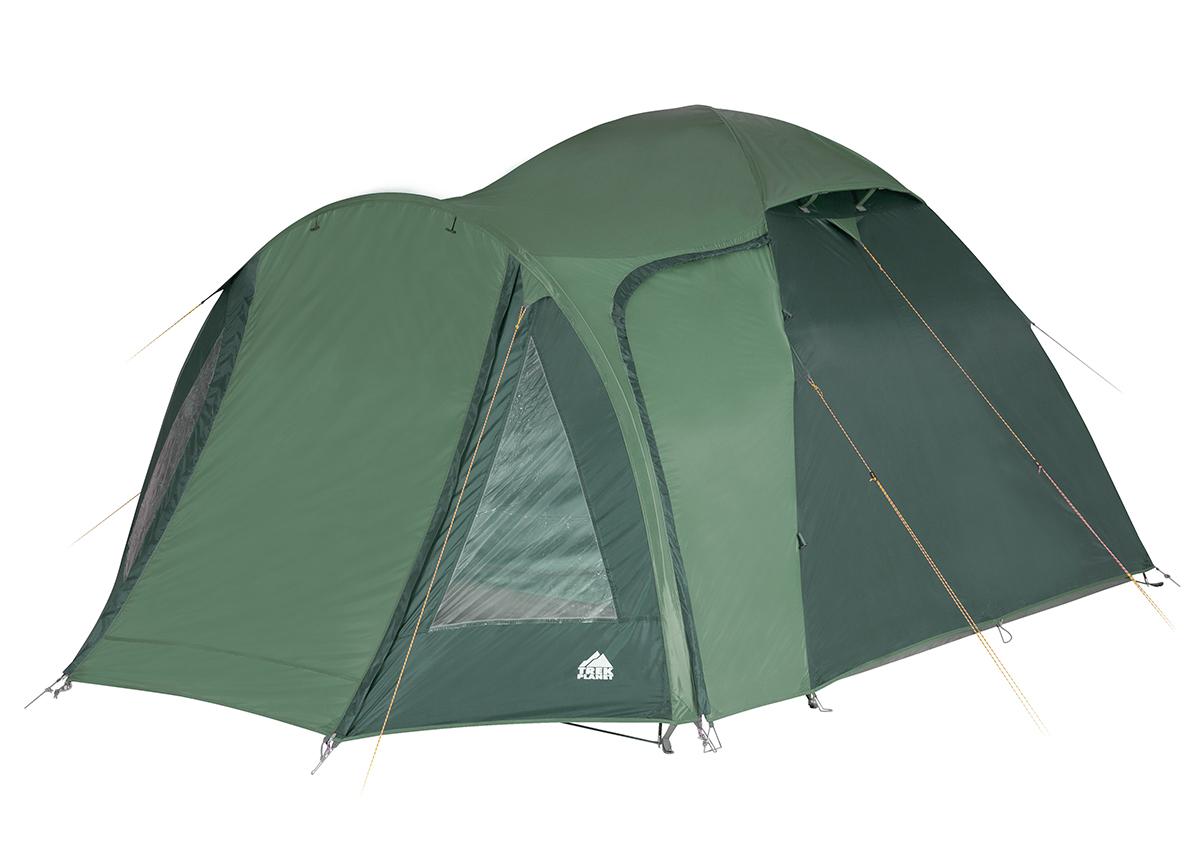 Туристическая палатка Trek Planet Tahoe 4 четырехместная зеленая