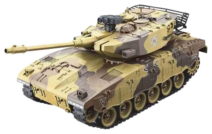 Радиоуправляемый танк House Hold Israel Merkava Желтый 1:20 Household