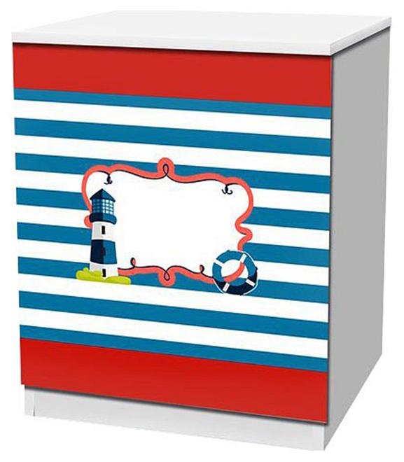 Купить Отважный моряк TOM01, Тумбочка Кровати-машины Отважный моряк KMA_TOM01, Детские тумбы