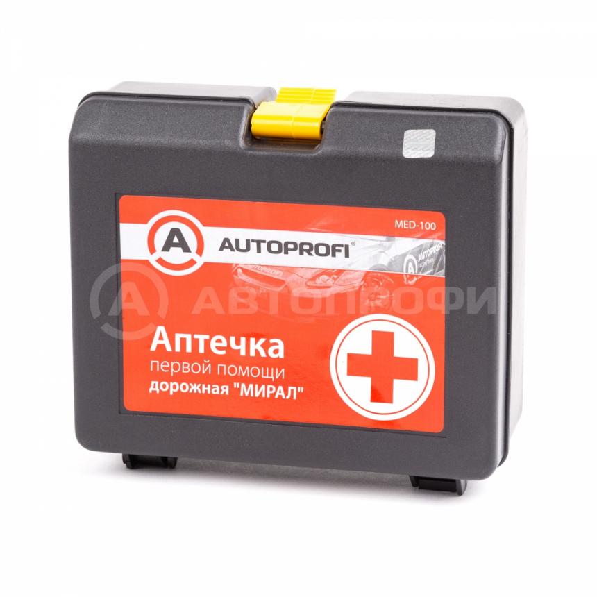 Аптечка первой помощи дорожная AUTOPROFI MED 100