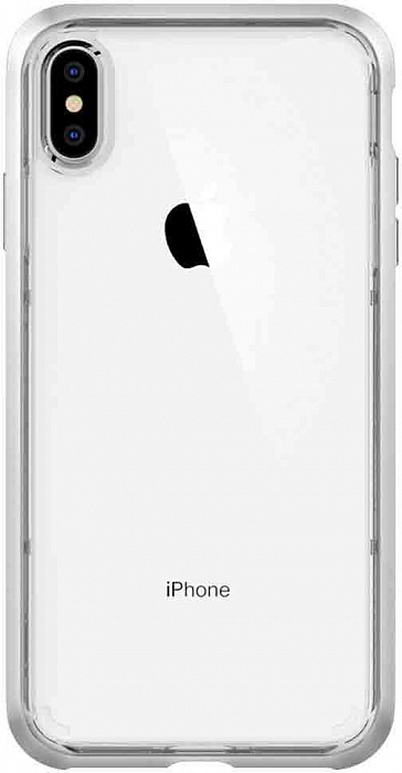Чехол Spigen Neo Hybrid Crystal (065CS24845) для iPhone XS Max (Silver)
