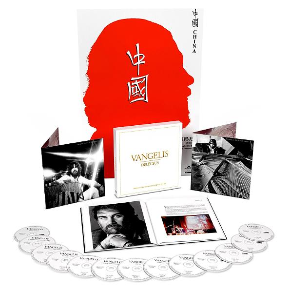 Аудио диск Vangelis  Delectus (The Polydor #and# Vertigo Recordings 1973-1985)(13CD)