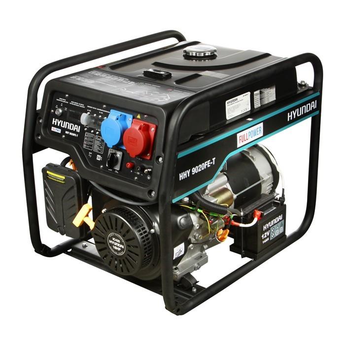 Бензиновый генератор HYUNDAI HHY 9020FE T