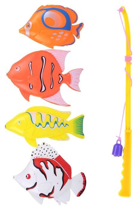 Игра в рыбалку Yako Toys Мини Мания Рыбалка M6171 в ассортименте, Игрушки для купания малыша  - купить со скидкой