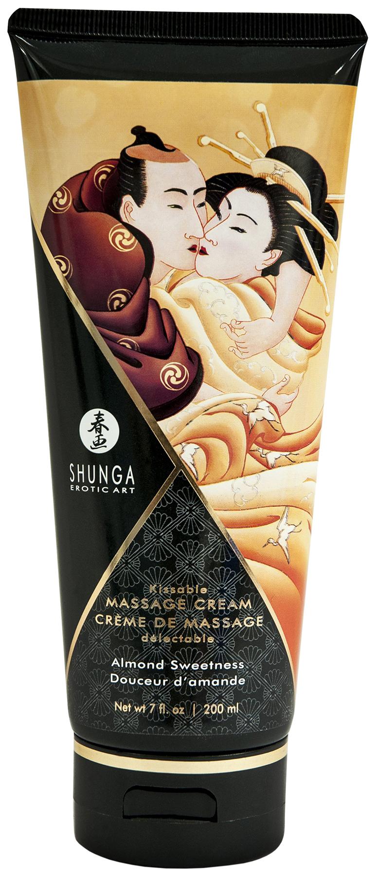 Массажный крем для тела Shunga Intoxicating Chocolate с ароматом шоколада 200 мл