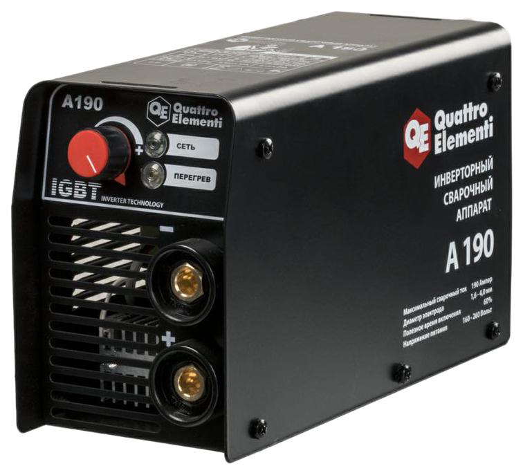 аппарат электродной сварки, инвертор QUATTRO ELEMENTI A 190 248-528