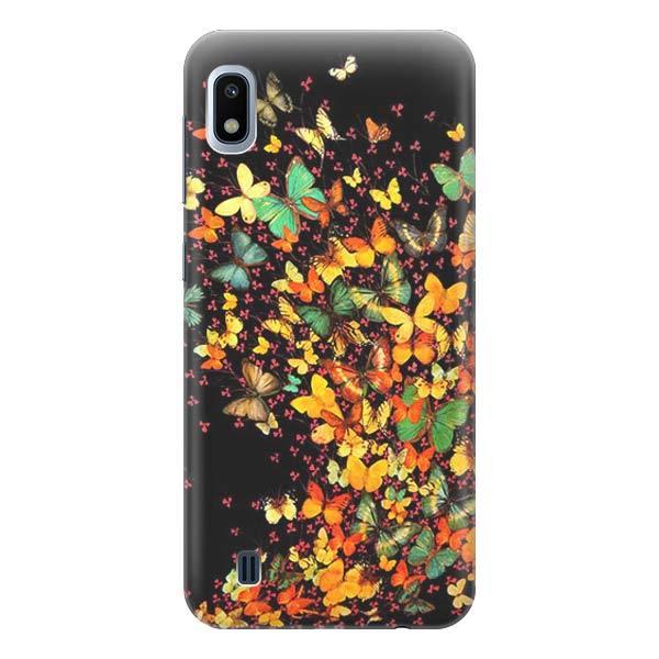 Чехол Gosso Cases для Samsung Galaxy A10 «Взрыв бабочек»