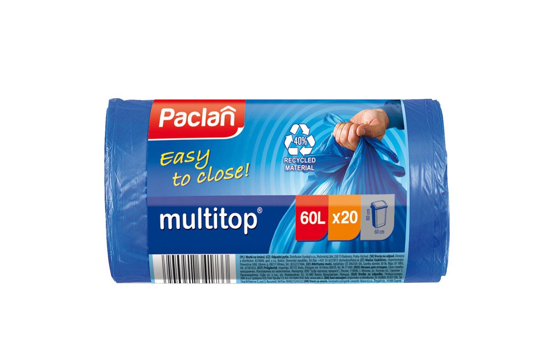 Мешки для мусора Paclan Multitop 60л 20шт