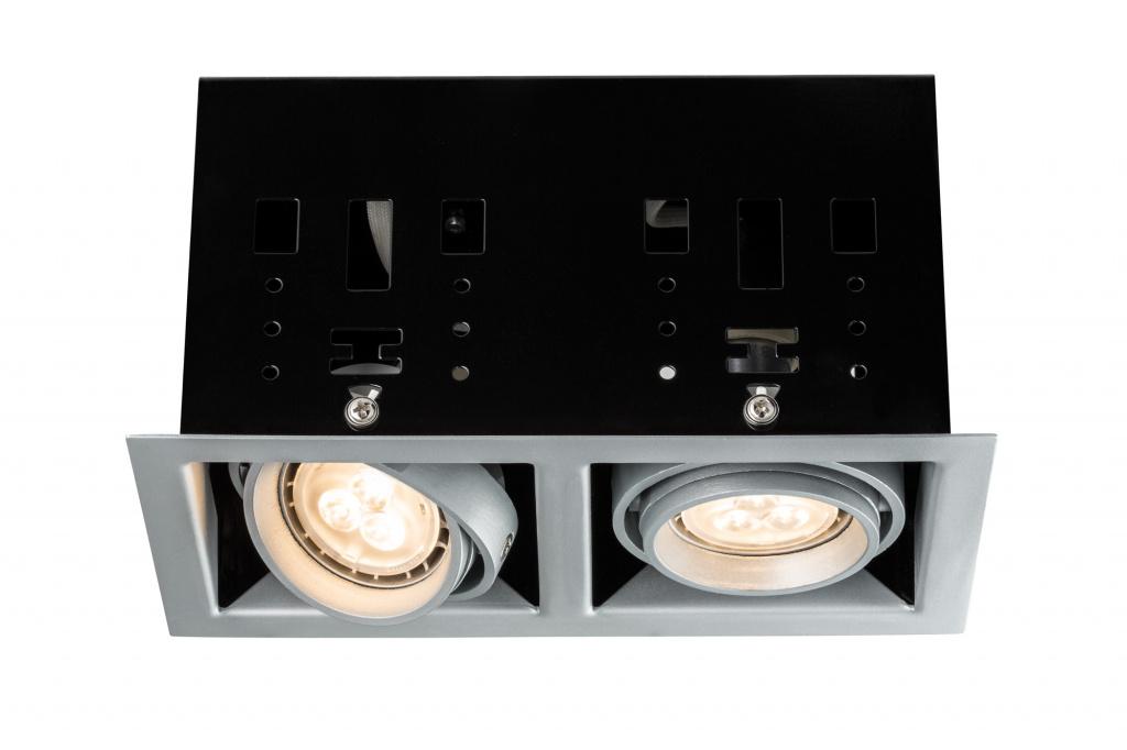 Светильник Cardano LED 2x4W GU10, титан 92664