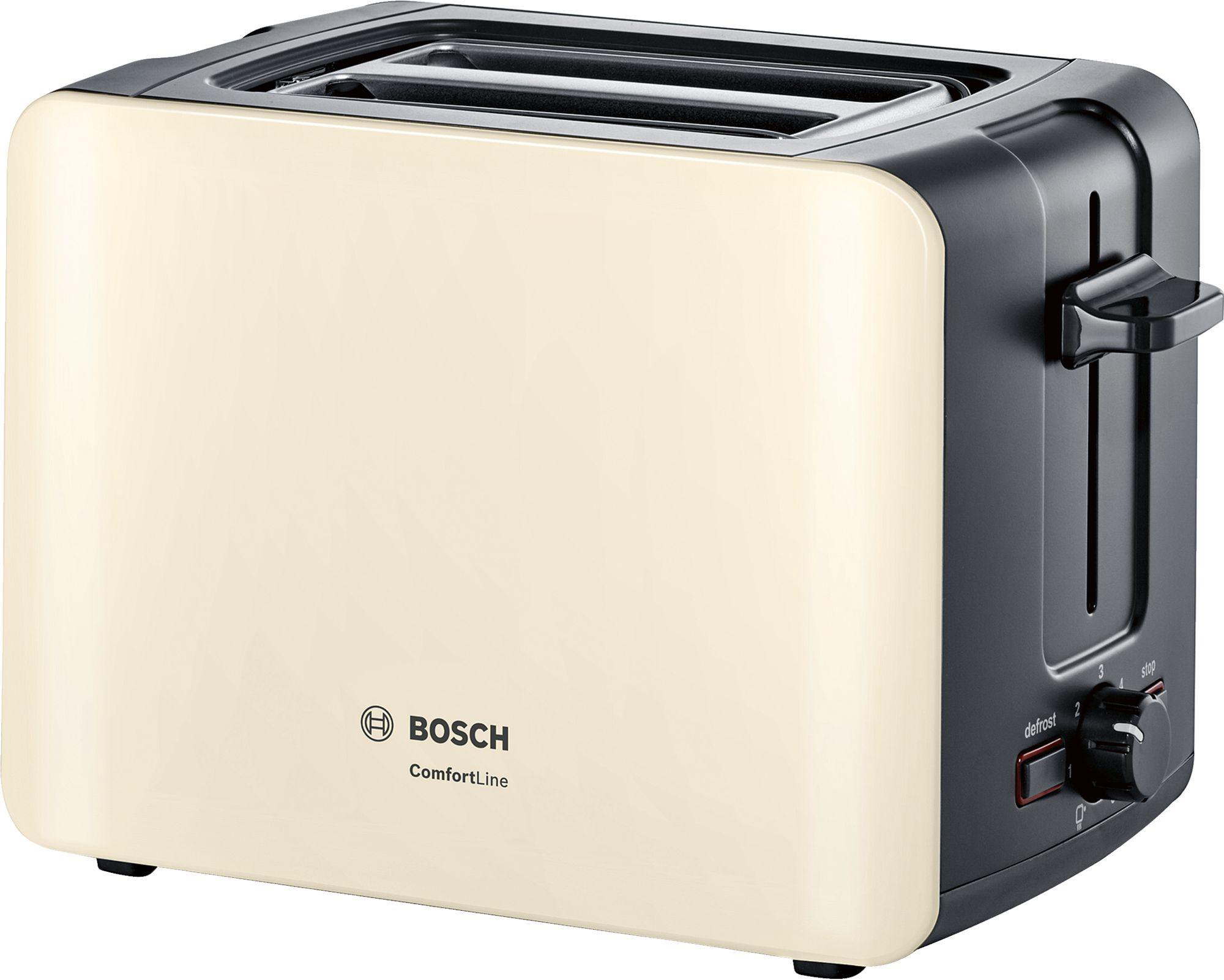 Тостер Bosch TAT6A117 Beige