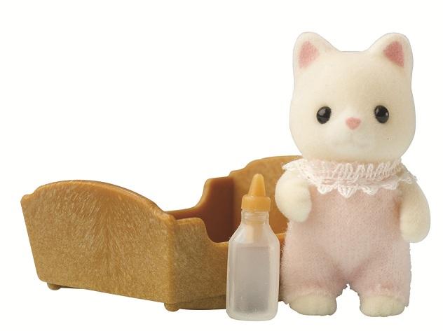 Купить Игровой набор sylvanian families малыш котёнок, Игровые наборы